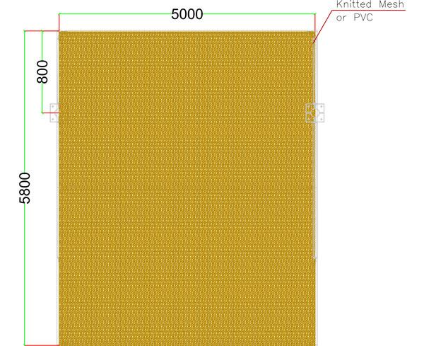 single pole type2 arch shades in uae