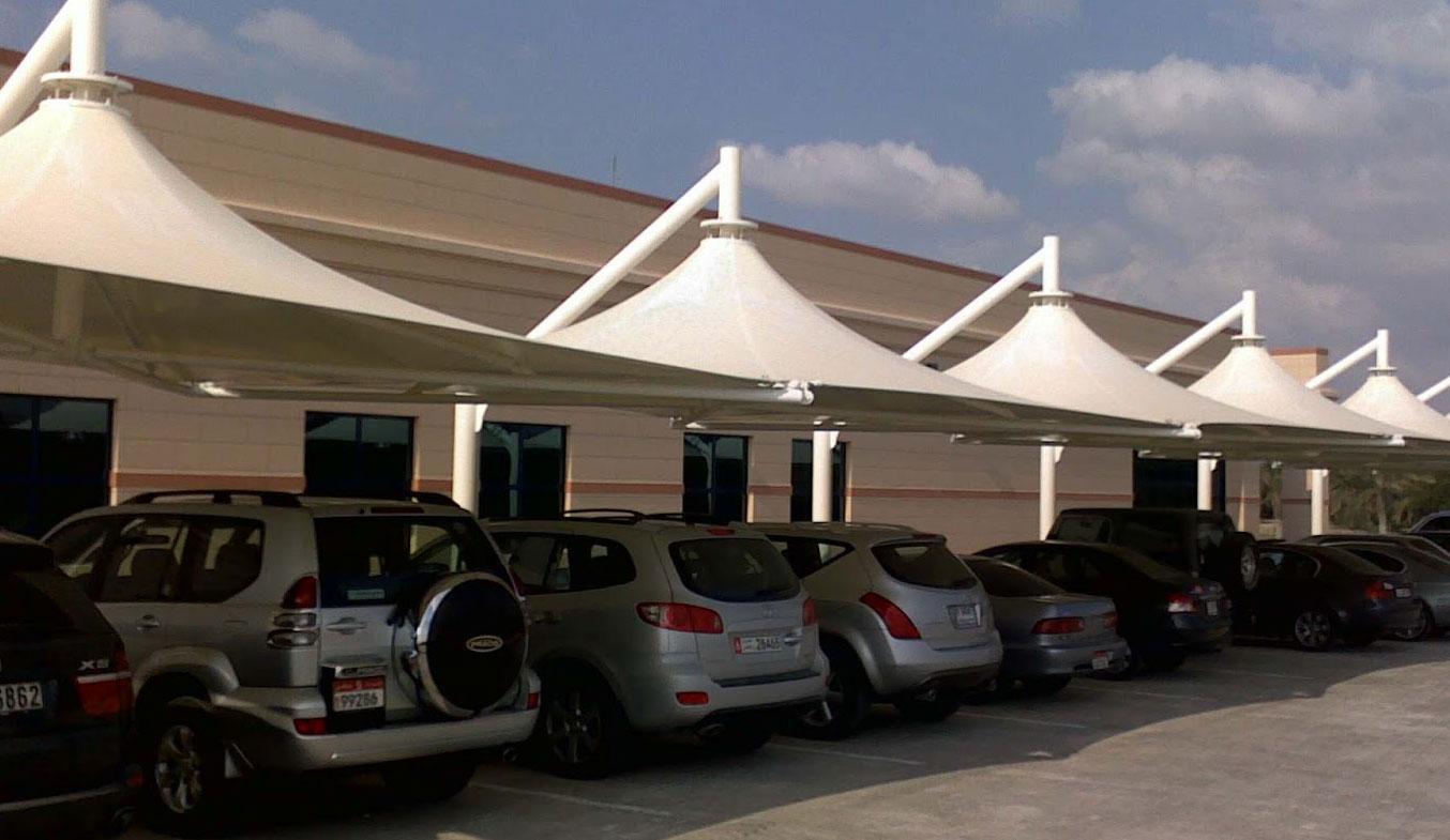 car parking lamp umbrella shades in uae