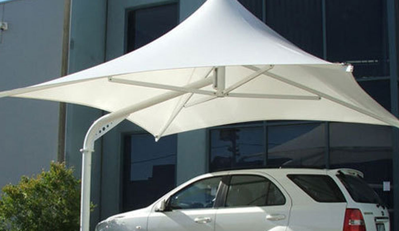 car parking lamp umbrella shades in dubai