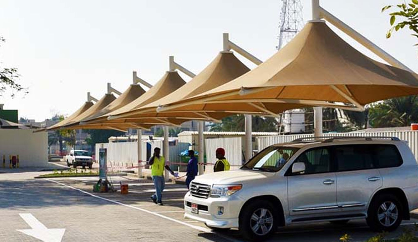 car parking lamp type1 umbrella shades in uae