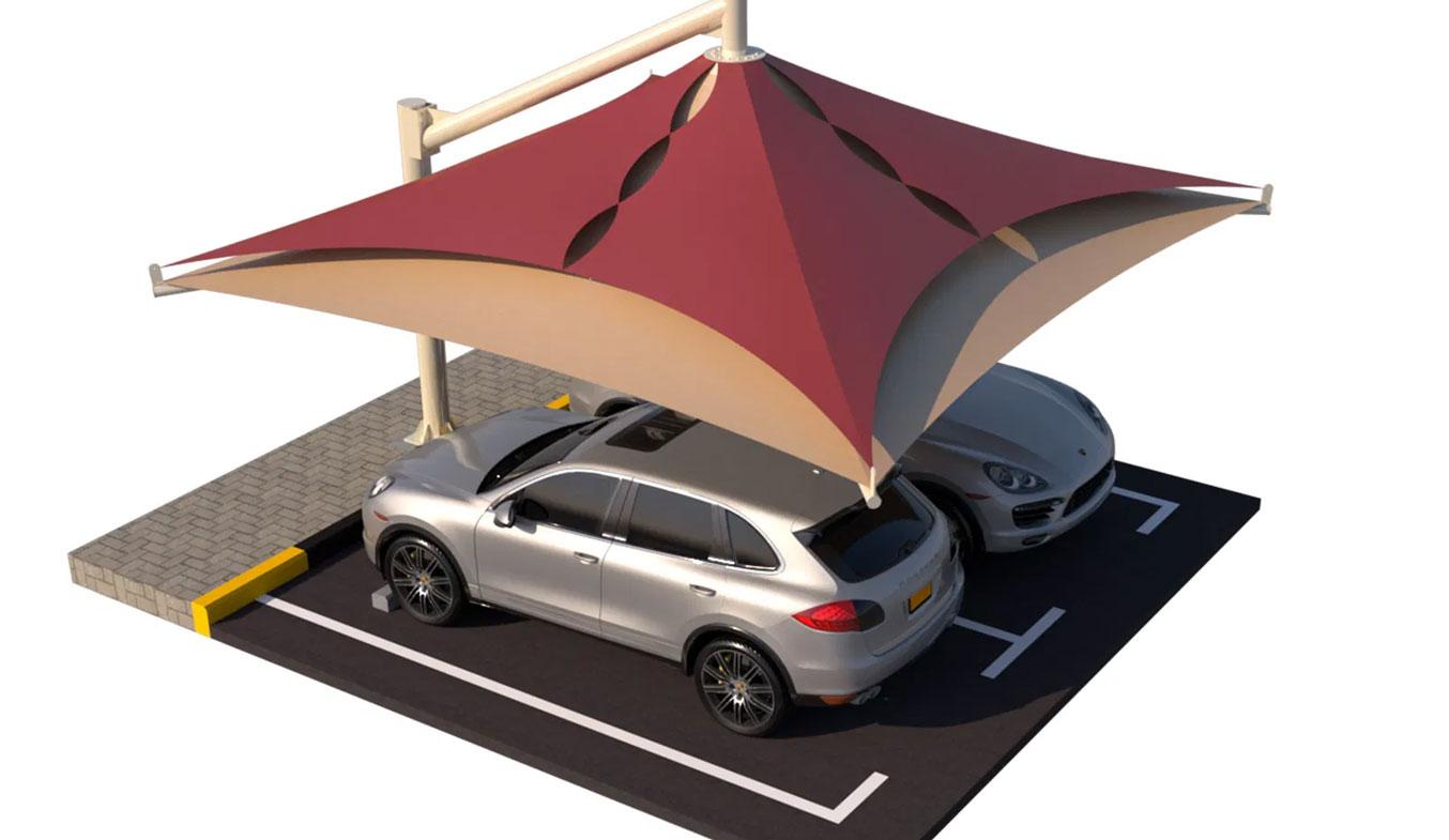 car parking lamp type1 umbrella shades in dubai