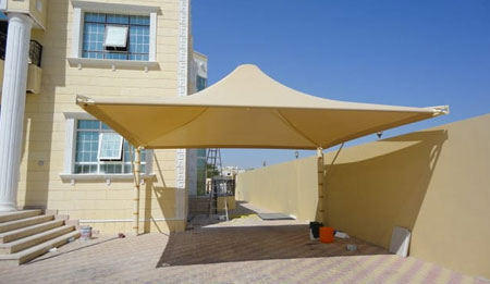 umbrella car parking shades suppliers in uae