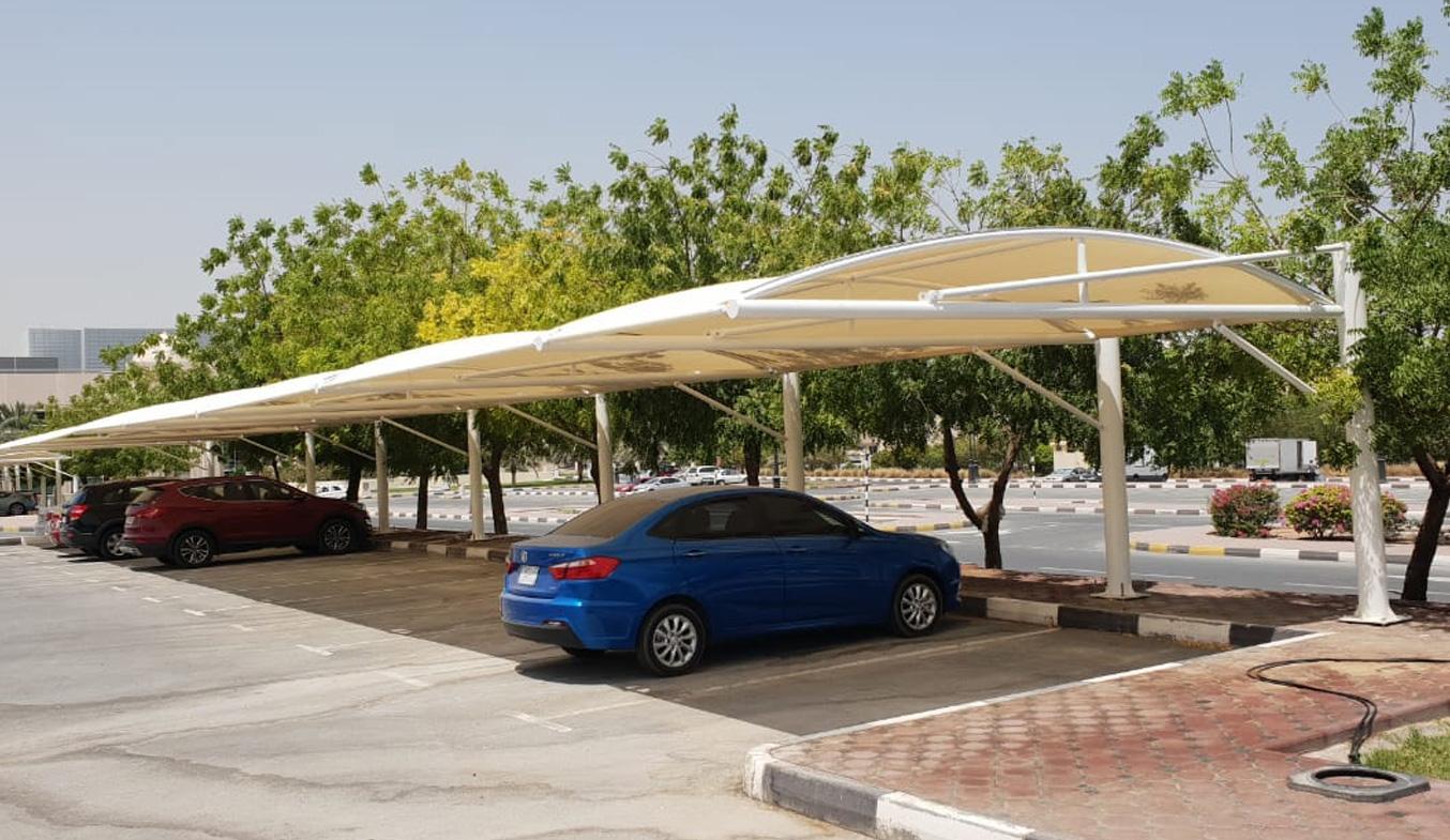 car parking shades in dubai