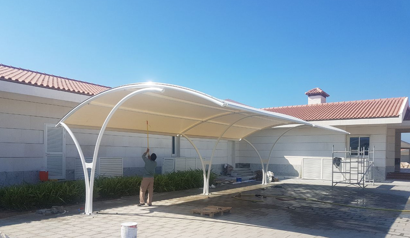 car parking shades suppliers in dubai