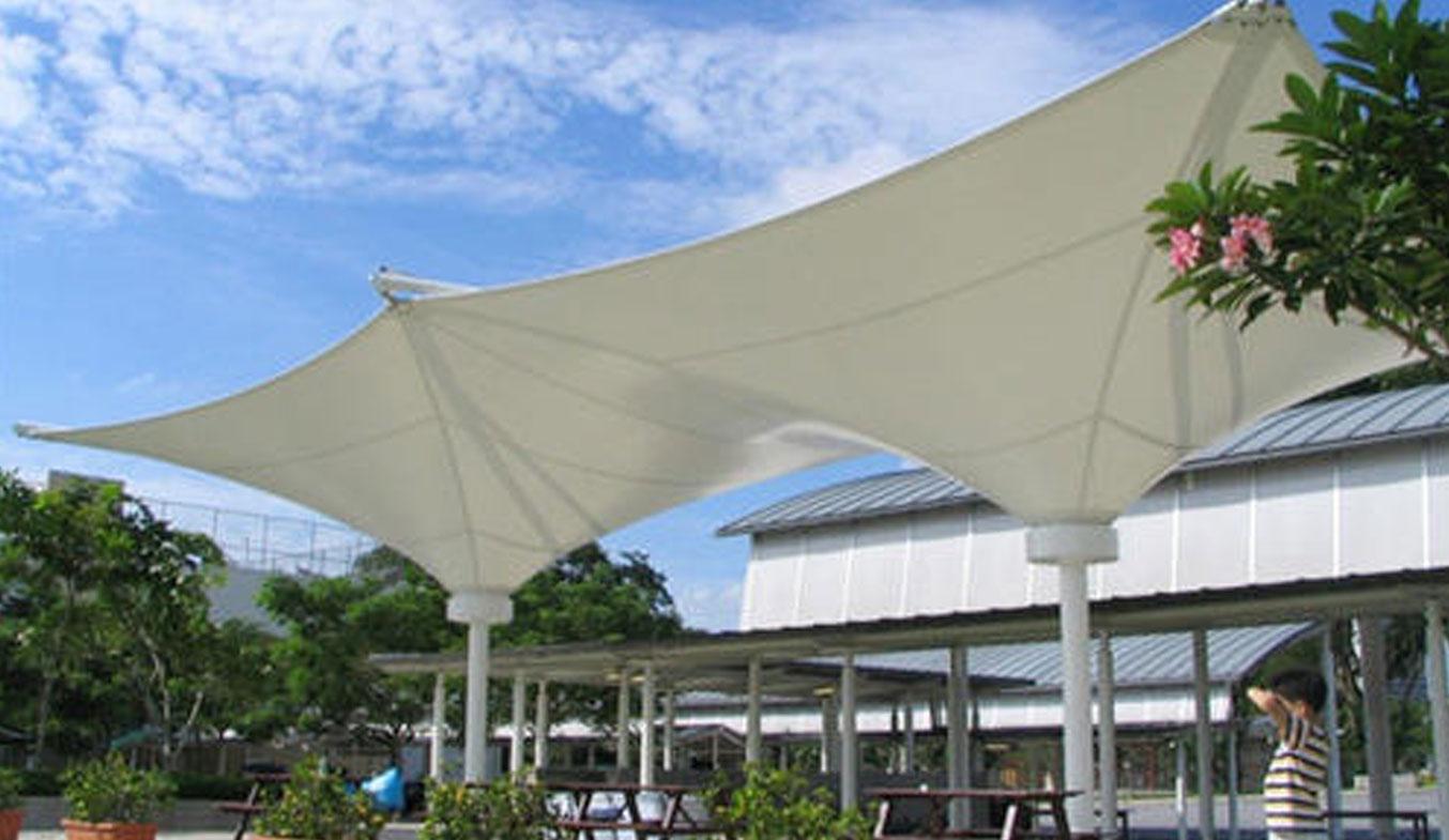inverted umbrella car parking shades in uae