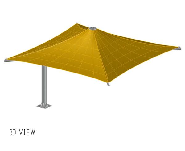 lamp 2 umbrella shades