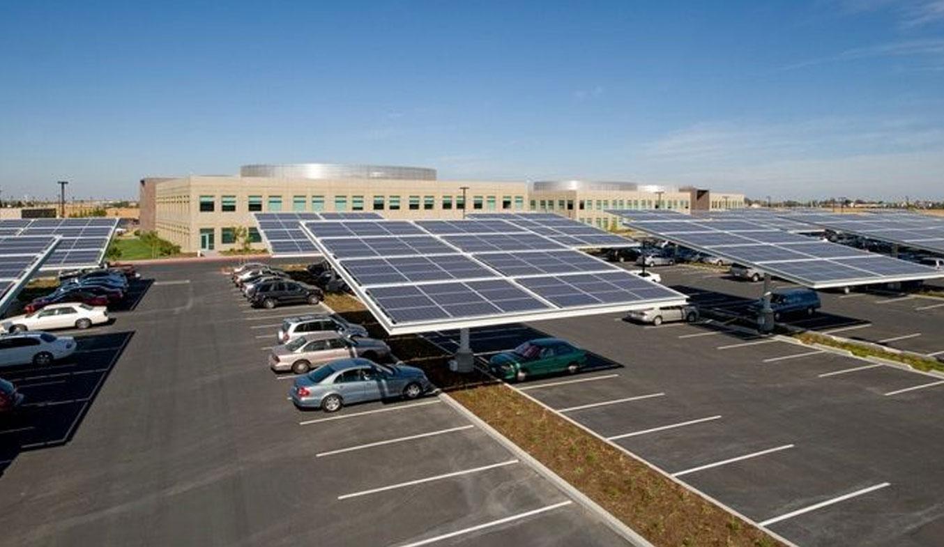 solar car parking shades manufactures in dubai