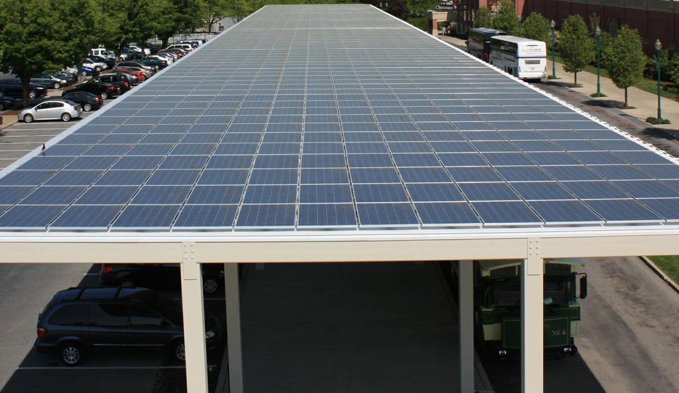 solar car parking shades in uae