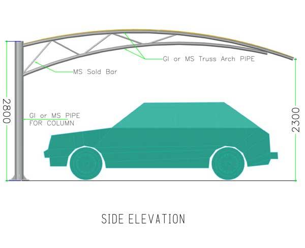 truss type car parking tents suppliers in dubai