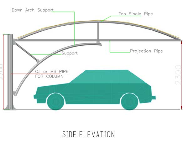 arch truss type car parking tents suppliers in dubai