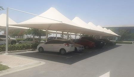 car parking umbrella tents in uae