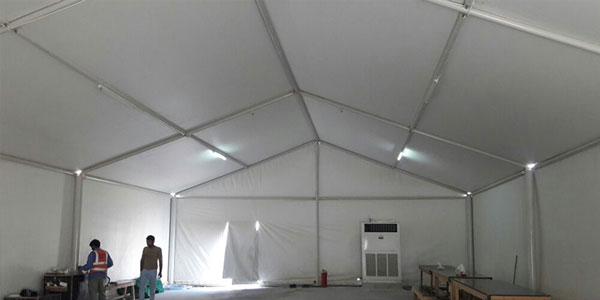 labour rest area tents in uae