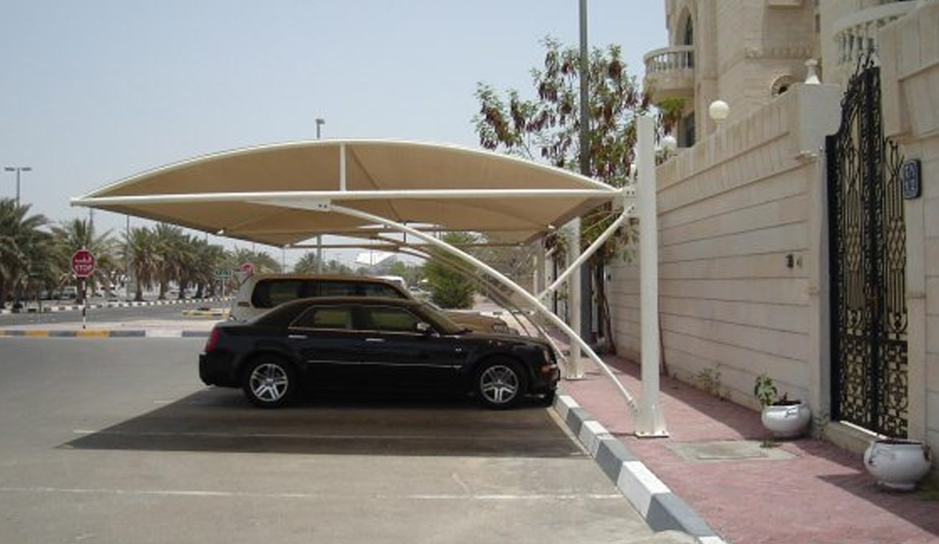 parking shades for rent in uae