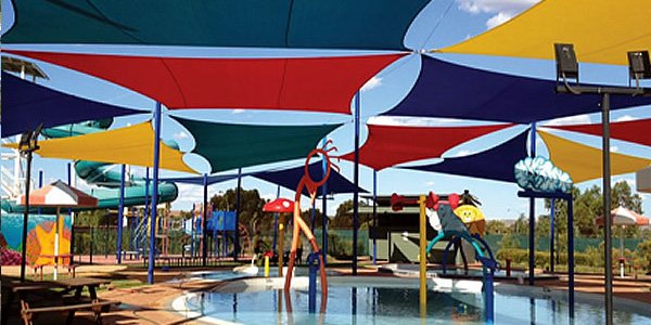 school play area shades manufactures