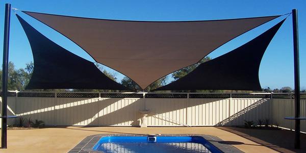 swimming pool sail shades manufactures in dubai