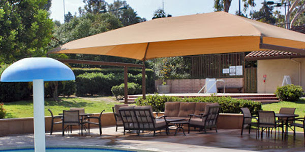 pool side seating shades manufacturer in dubai