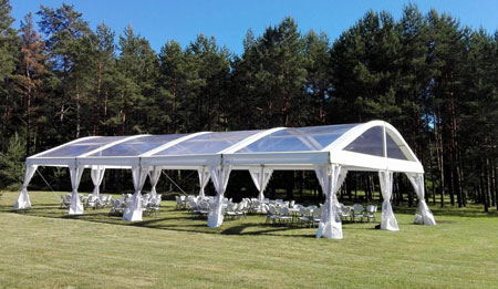 wedding tents in uae