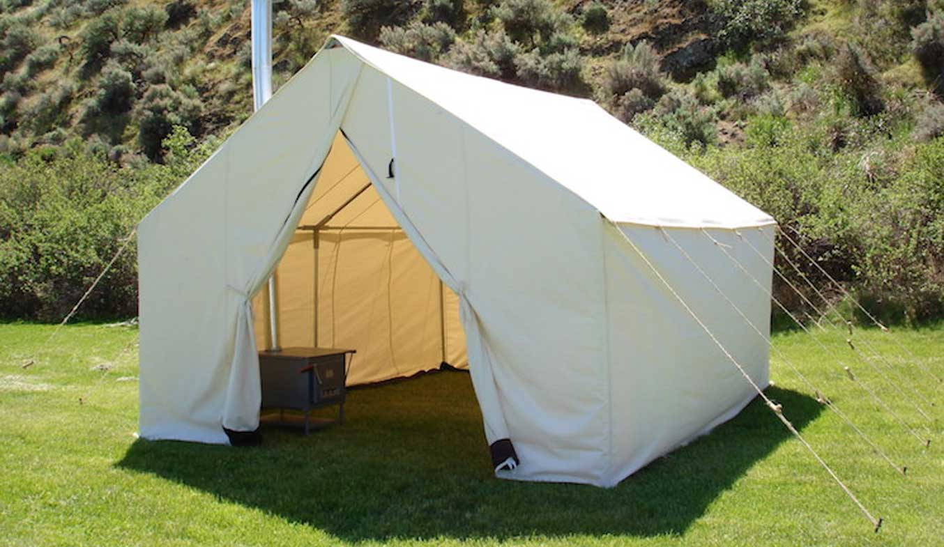 canvas tent for rent in uae