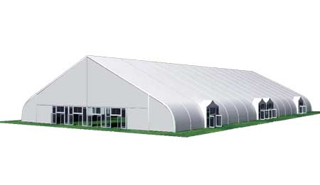 curve tents for events