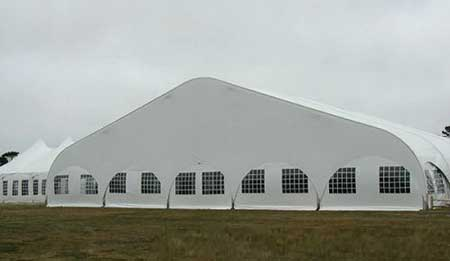 curve tents for sports events