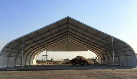 curve tents for outside events