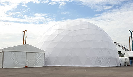 dome tent manufactures in sharjah