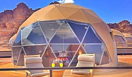 dome tents in dubai