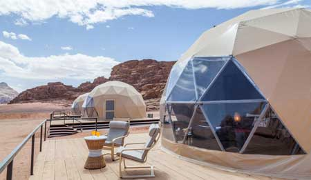dome tents in uae