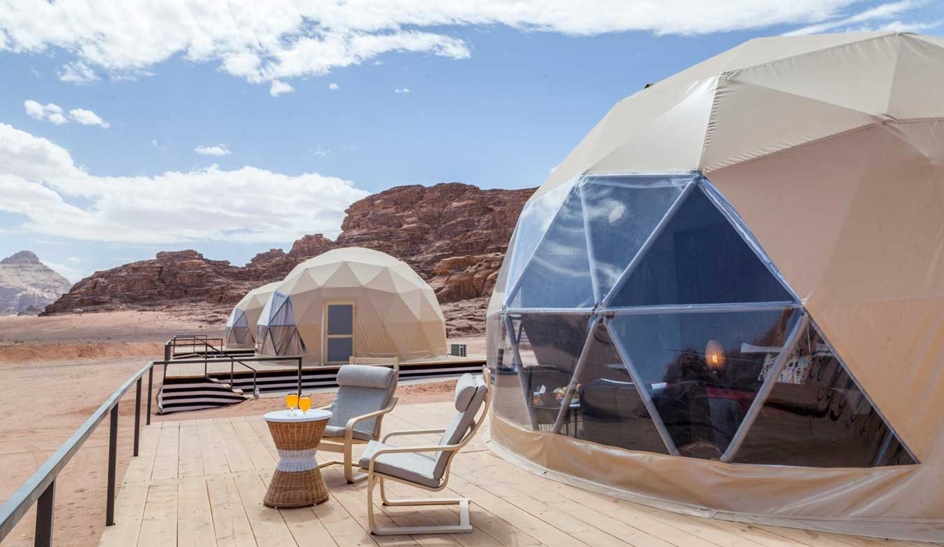 igloo tents in dubai